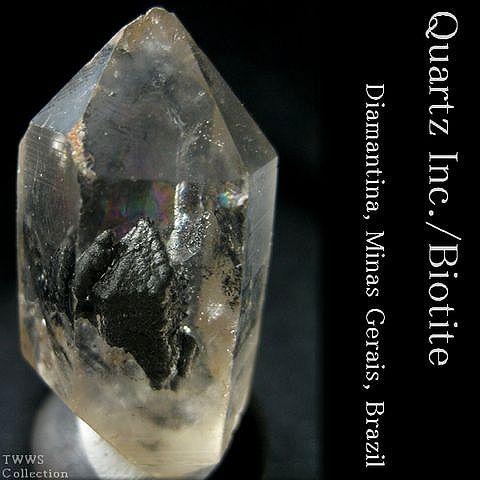 水晶&黒雲母_ブラジル1