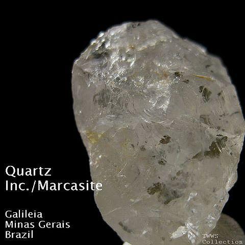 石英&白鉄鉱_ブラジル1