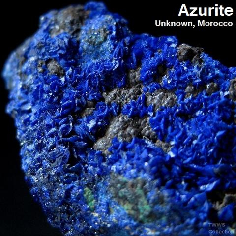 藍銅鉱_モロッコ4