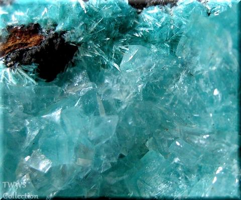 水亜鉛銅鉱&石膏_メキシコ1ボツ