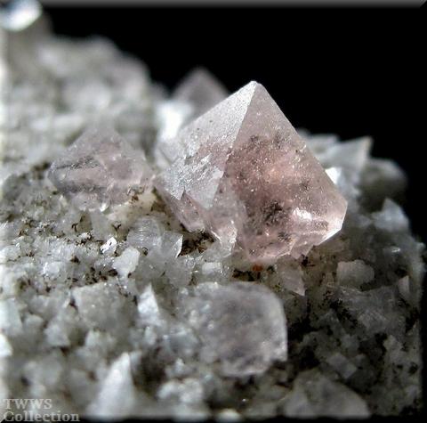 蛍石&煙水晶&氷長石_フランス1蛍石