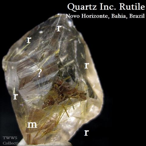ルチル水晶_ブラジル6表結晶面