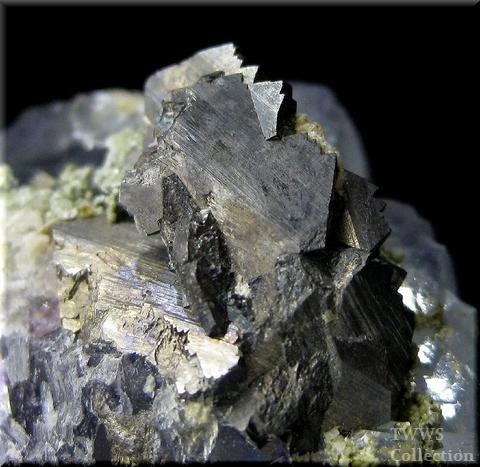 蛍石&硫砒鉄鉱&黄鉄鉱_中国1