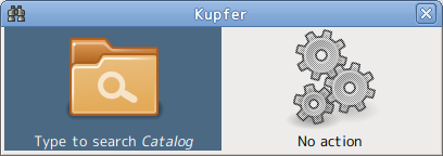 Kupfer Ubuntu ランチャー
