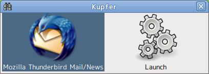 Kupfer Ubuntu ランチャー キーボード入力