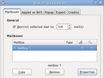gnubiff Ubuntu パネルアプレット Gmail通知 Gmailアカウント作成