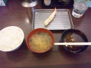120118 天ぷら定食 山ちゃん 海老
