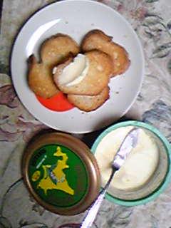 20071130_1 バゲットと四葉バター