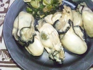 120226 蒸し牡蠣