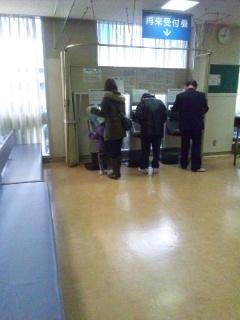 120228 川崎病院 受付機