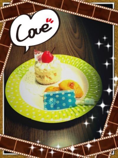 プチケーキとかぼちゃのお菓子