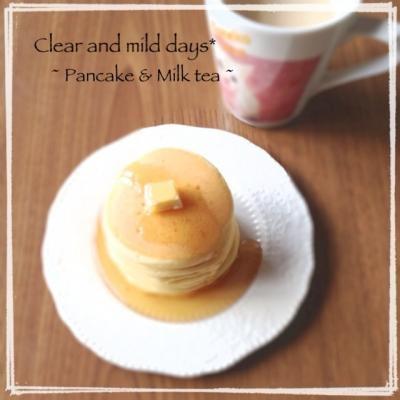 朝食♡パンケーキ
