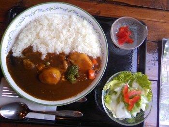 野菜カレー(辛口)