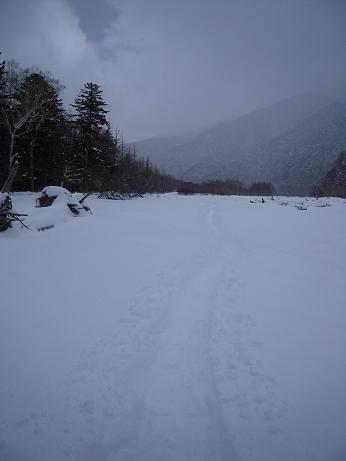 冬の上高地 147