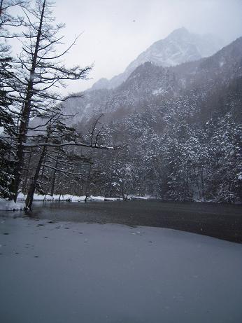 冬の上高地 182