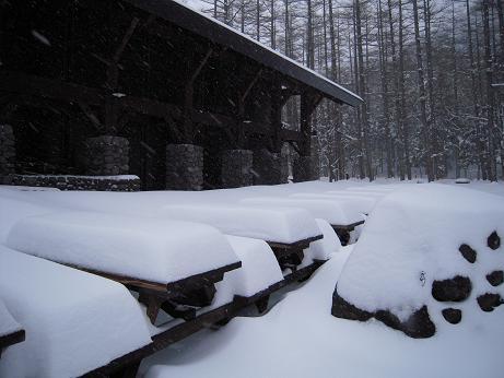 冬の上高地 197