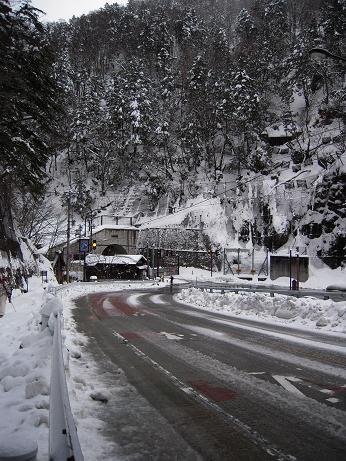 冬の上高地 208
