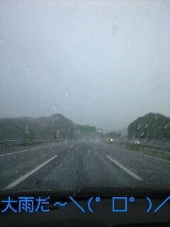 大雨キャンプ?
