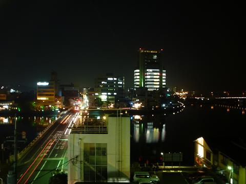 松江シティホテルからの眺め