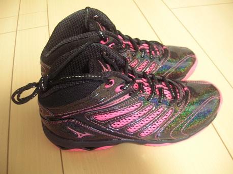 玉虫色な靴