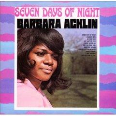 BARBARA ACKLIN「SEVEN DAYS OF NIGHT」