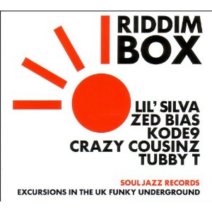 「RIDDIM BOX - EXCURSIONS IN THE UK FUNKY UNDERGROUND」