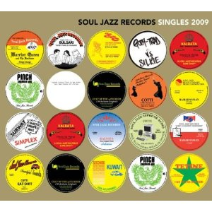 「SOUL JAZZ RECORDS SINGLES 2008-2009」