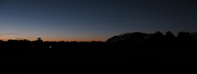 ヒラスの夜明け。