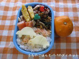 12月9日 次男幼稚園お弁当