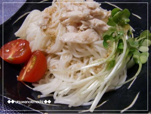 スゴだれのサラダ素麺_1