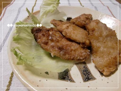 鶏胸肉の竜田揚げ_1