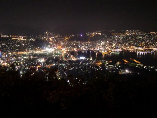 日本三大夜景_稲佐山にて