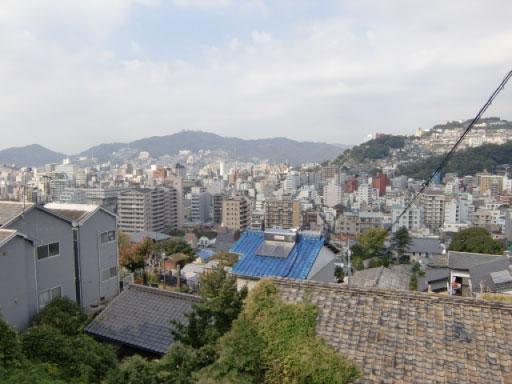 龍馬通りから見下ろす景色