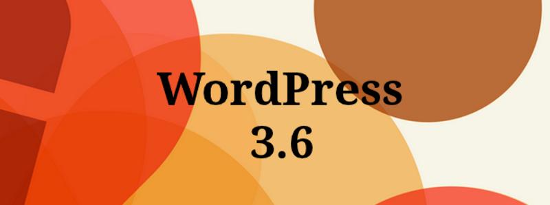 wordpress3.6