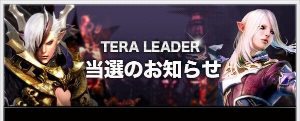 TERALeader当選