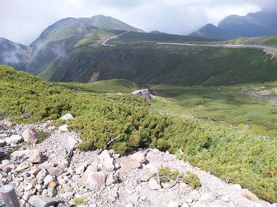 9月に行ったツーリングin乗鞍岳