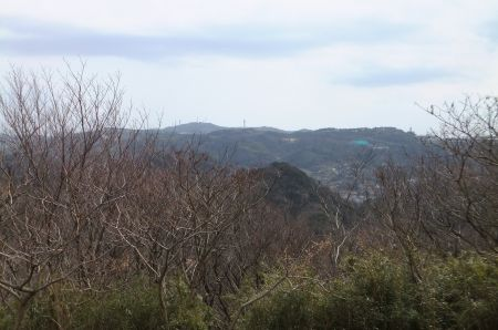 大楠山方面