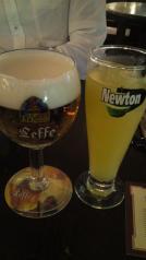 パインとビール(ラスト)