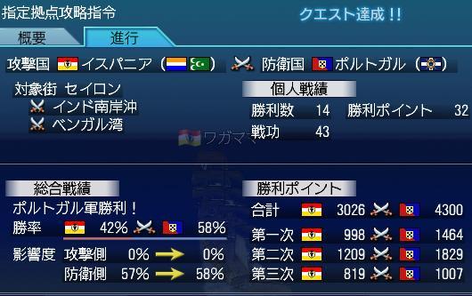 7.31 大海戦最終日戦功