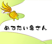 めでいた亀さん