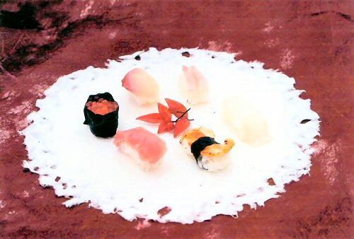 和紙のお皿 6