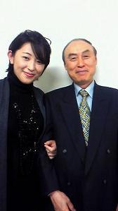 角田さん&私