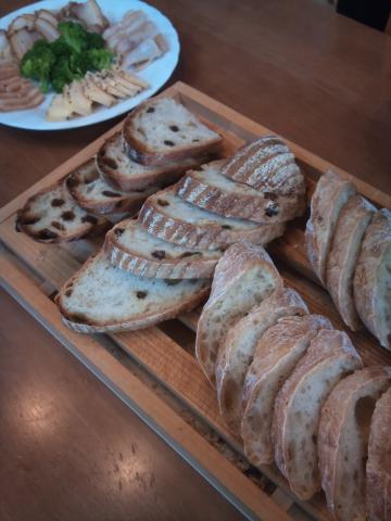 燻製とパン