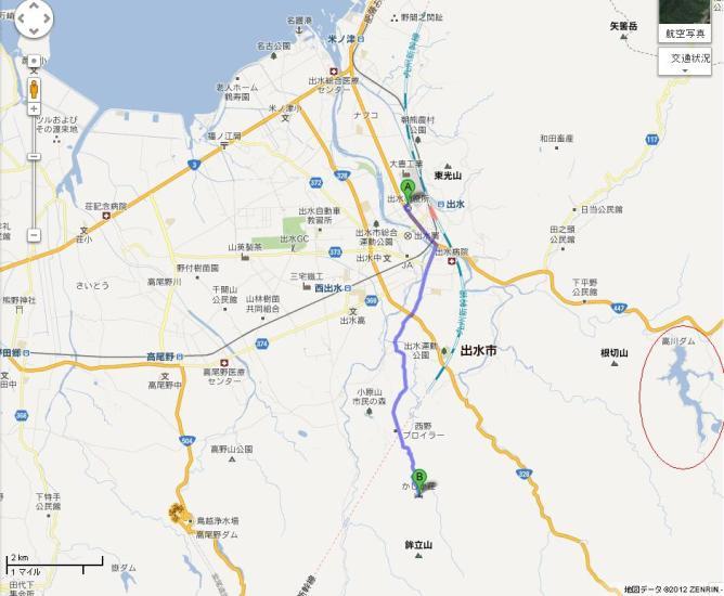 yugawati map