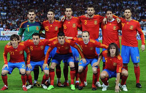 スペインチーム1