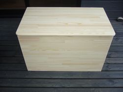 灯油缶入れ木箱2