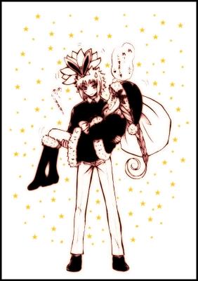 サンタさん!! クシナがプレゼントってことで♥♥ byミナト