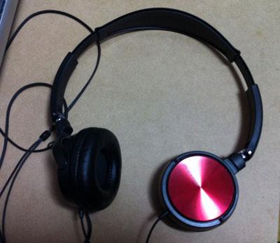 パイオニア 密閉型ダイナミックステレオヘッドホン MJシリーズ Red SE-MJ521-R _1