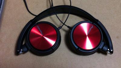 パイオニア 密閉型ダイナミックステレオヘッドホン MJシリーズ Red SE-MJ521-R _2