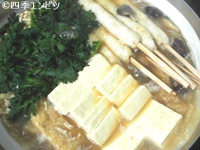 201102 きりたんぽ鍋